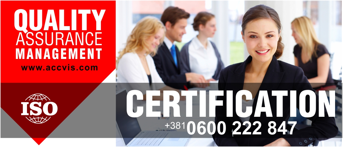 ISO CERTIFICATION SERBIA