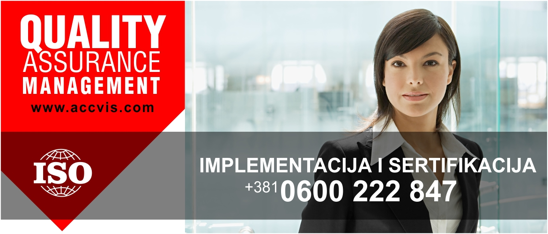 implementacija i sertifikacija iso standarda