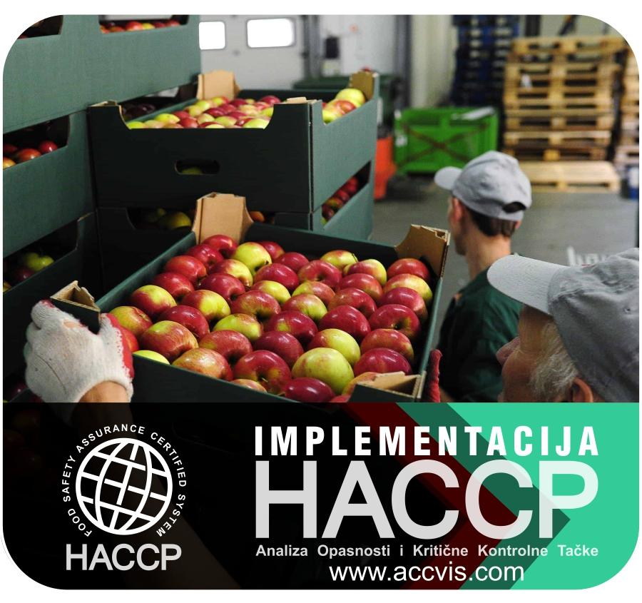 HACCP Transport hrane