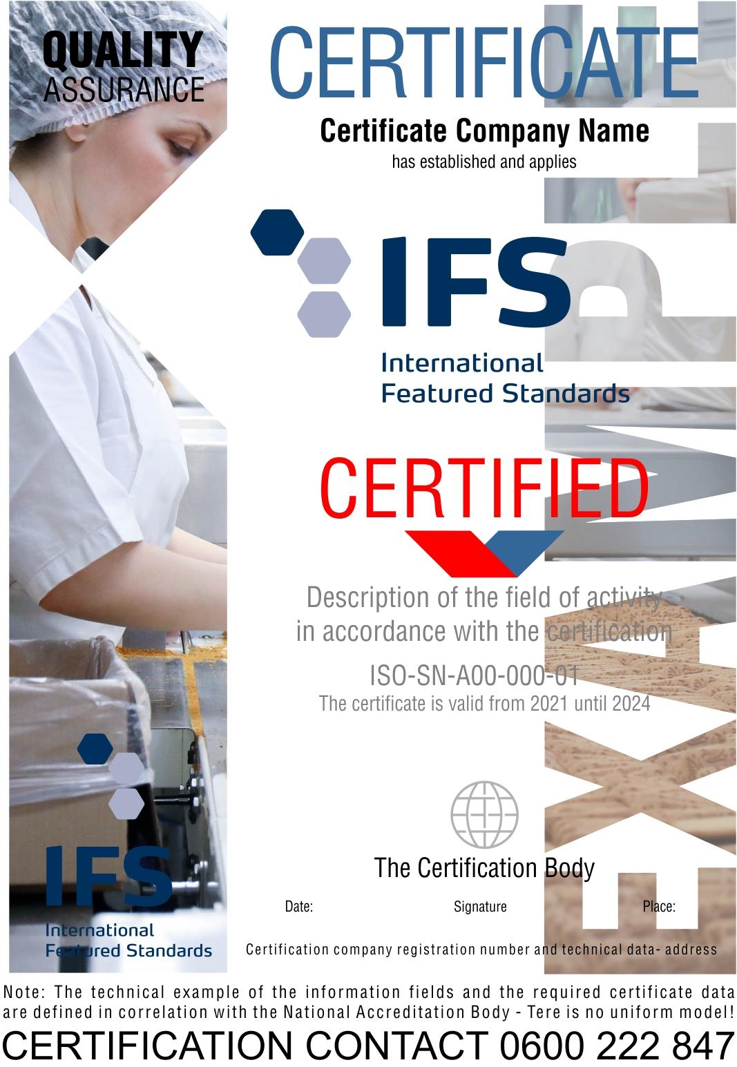 Sertifikacija IFS