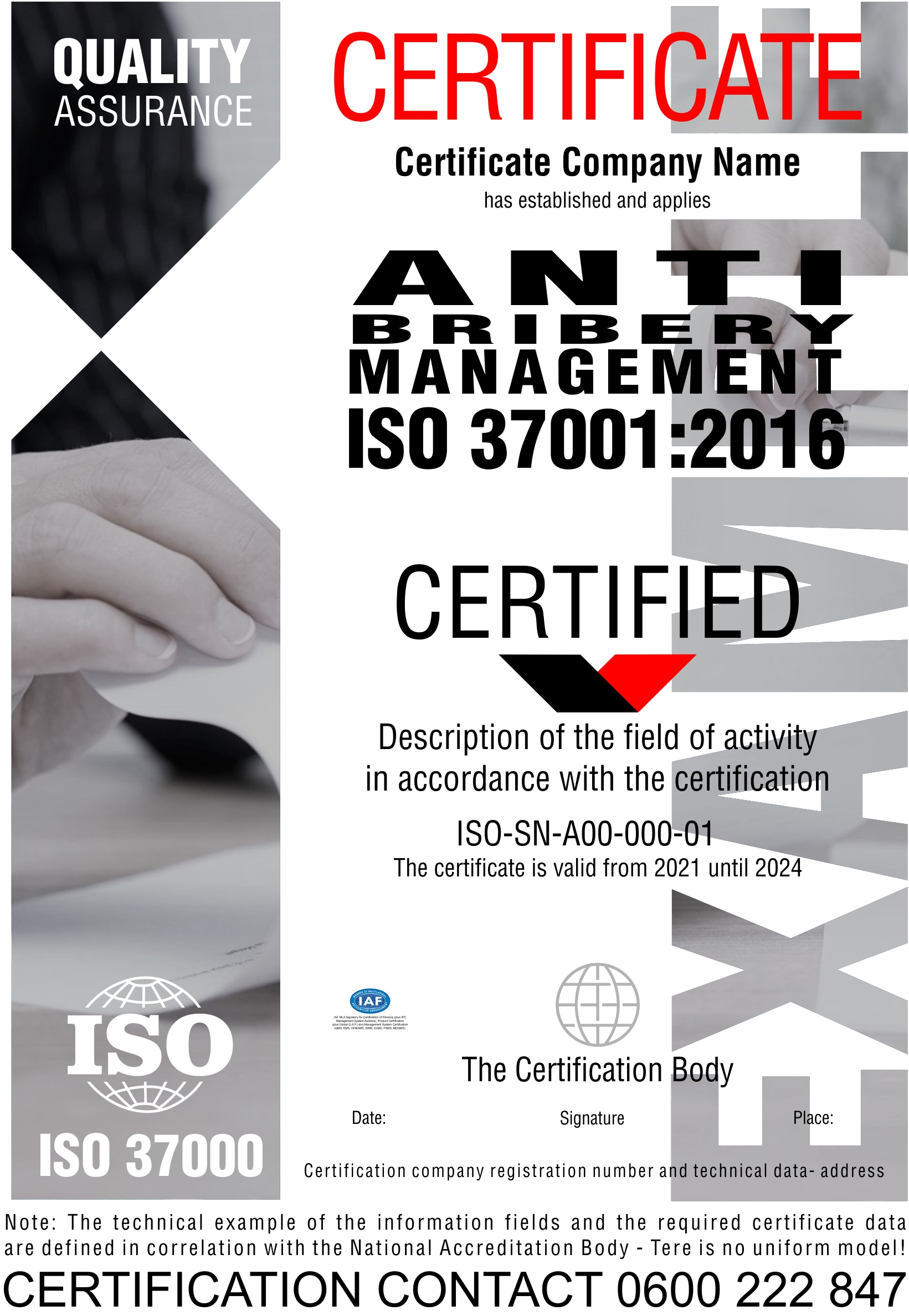 Sertifikacija ISO 37001