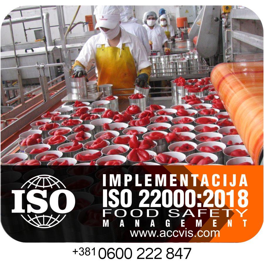Uvodjenje ISO 22000:2018
