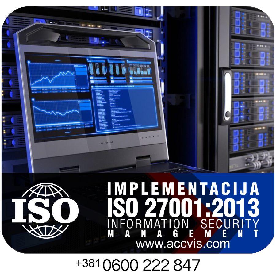 Uvodjenje ISO 27001 2013