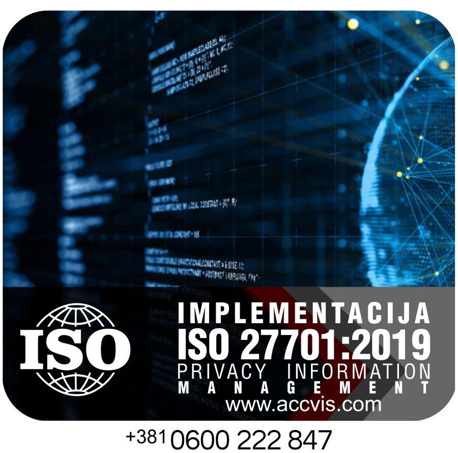 Uvodjenje ISO 27701 2019