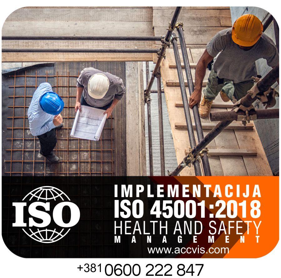 Uvodjenje ISO 45001:2018