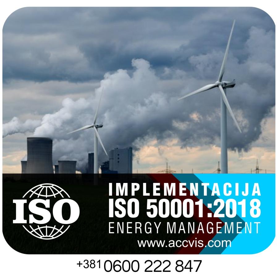 Uvodjenje ISO 50001:2018