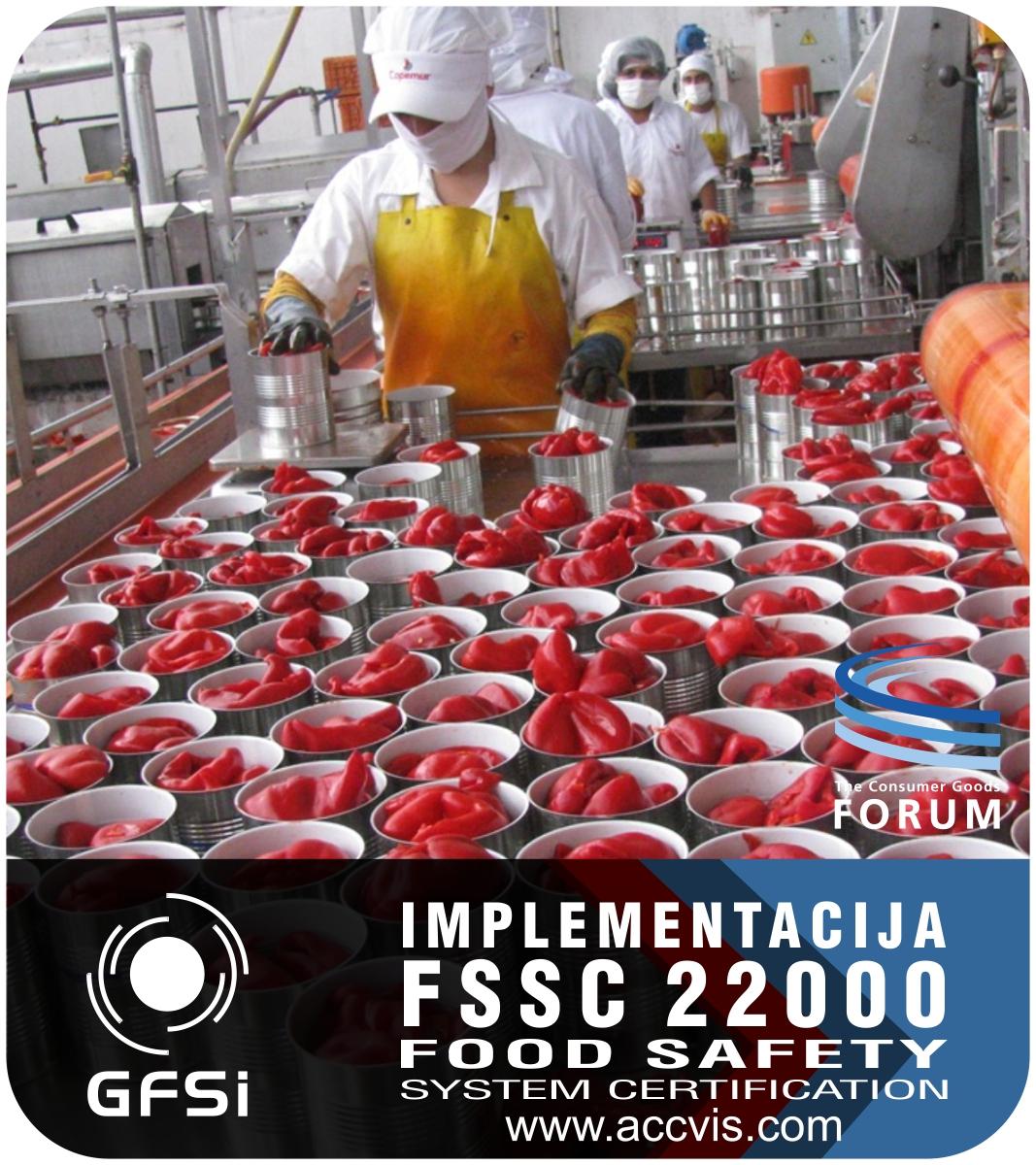 Uvodjenje standarda FSSC 22000