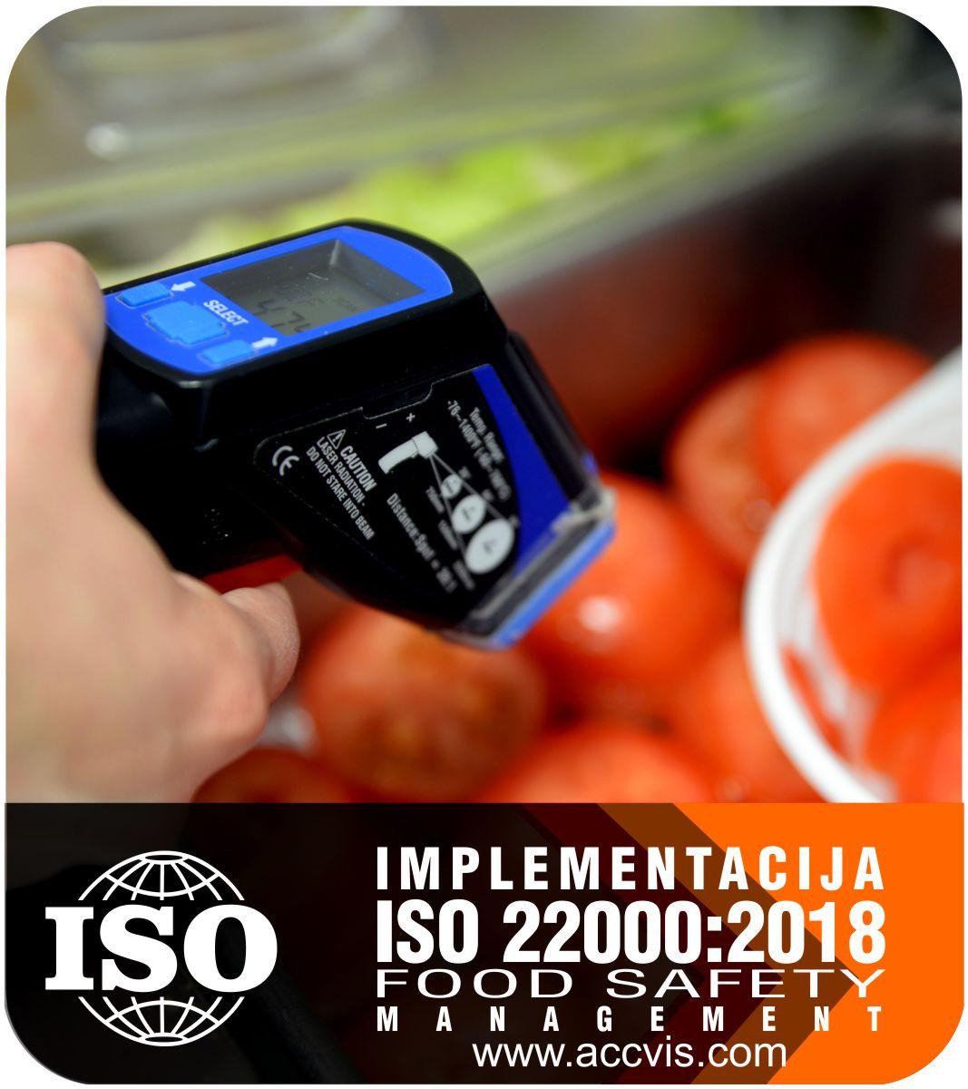 Uvodjenje standarda ISO 22000