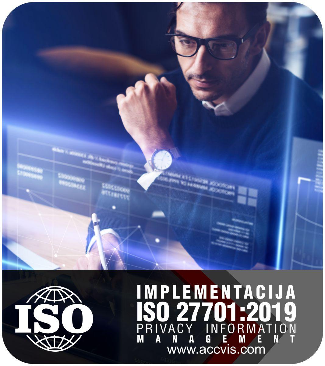 Uvodjenje standarda ISO 27701