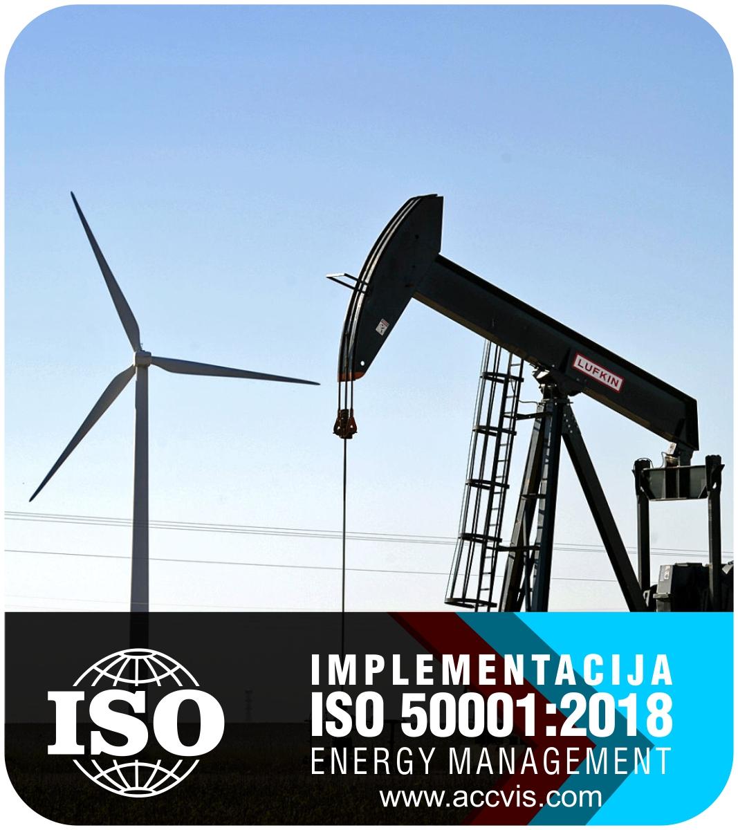 Uvodjenje standarda ISO 50001:2018